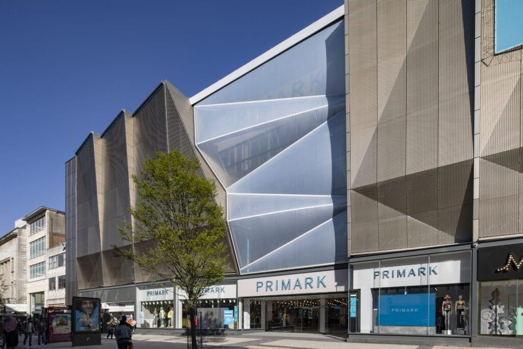 Birmingham Pavilions Exterior Primark