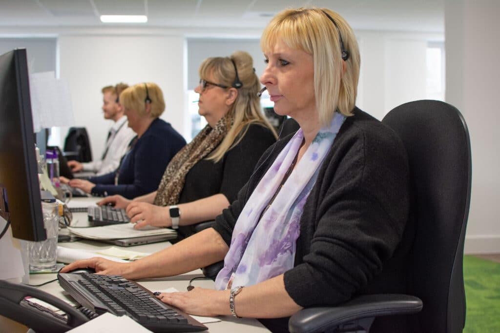 Women on a Helpdesk